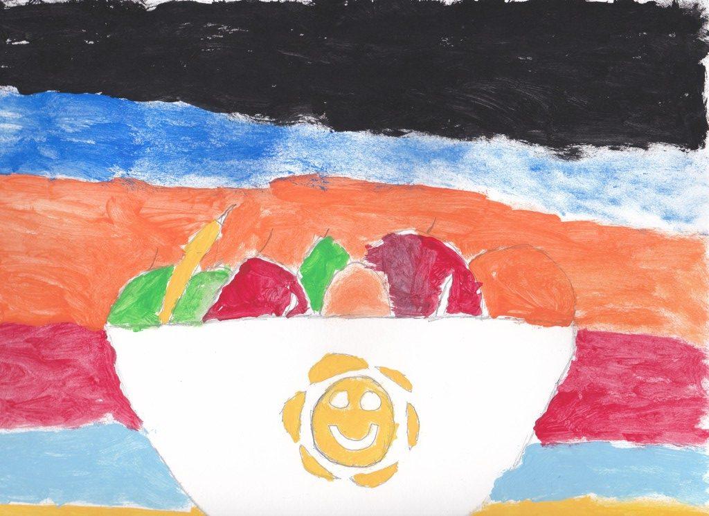 Acrylics on paper (Zaryan 10 Years old)