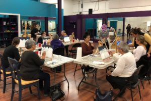 Art Night in full swing.