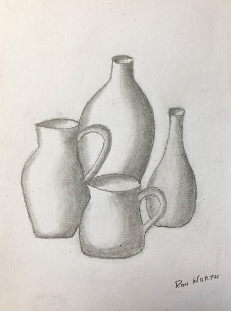 Pencil on paper (Ron)