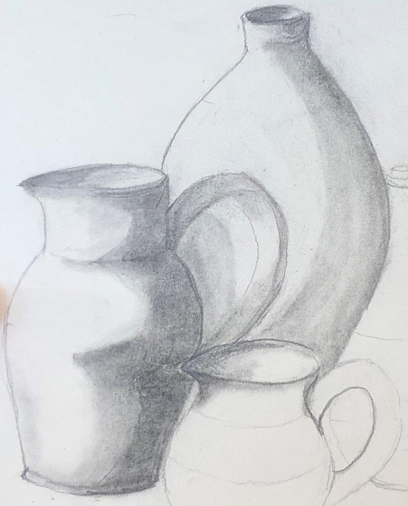 Pencil on paper (Jane)